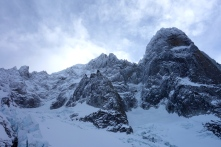 The Dru and Aiguille Vert, look very big here!