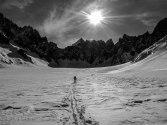 Me on the way up the basin (Photo Luke Jarmey)
