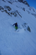 Dave finding more pow
