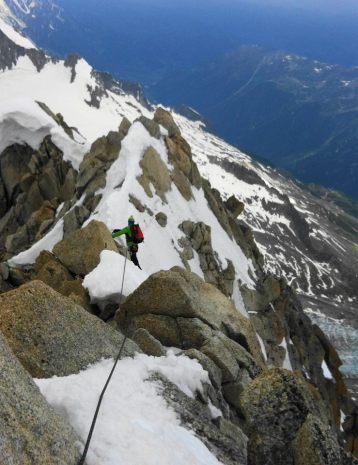 Ridge line traverse