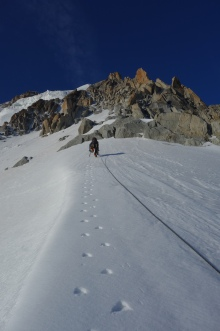 lower snow arete