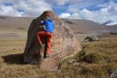 Some bouldering