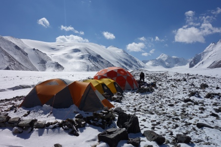 Base camp at 4280m