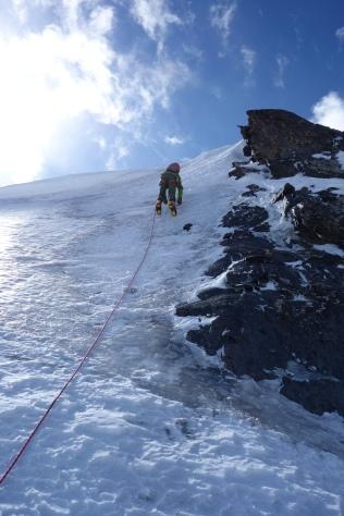Some actual climbing!