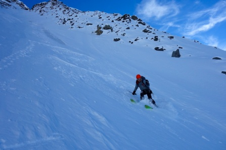First steep turns of the winter