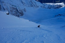 Lower half of couloir