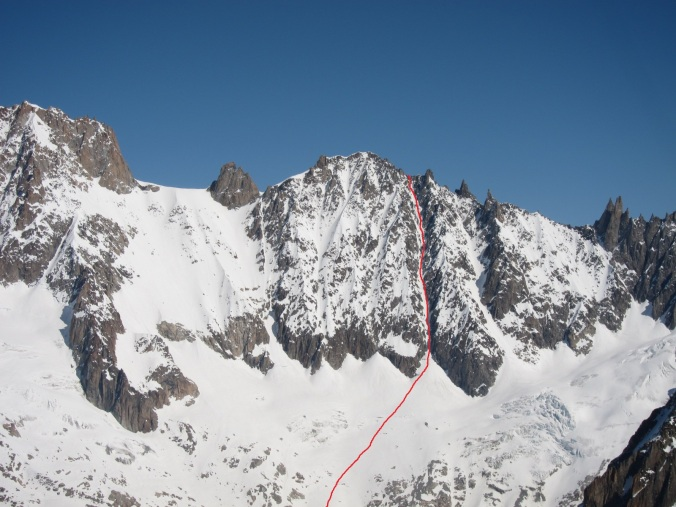 Photo. Chamonix topo