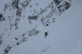 Steep and exposed