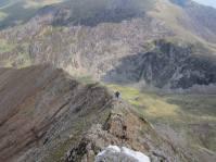The north ridge of Crib Goch